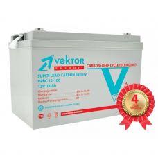 Аккумулятор Vektor CARBON 12-100 VPbC