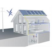 """Солнечная электростанция """"ДАЧА"""" 1кВт/0,32 кВт/1,2 кВт*ч"""