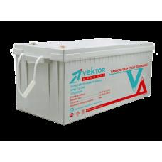 Аккумулятор Vektor CARBON 12-200 VPbC